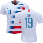 Wholesale Cheap USA #19 Zusi Home Kid Soccer Country Jersey