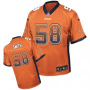 Wholesale Cheap Nike Bears #58 Roquan Smith Orange Alternate Men's Stitched NFL Elite Drift Fashion Jersey