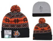 Wholesale Cheap Cincinnati Bengals Beanies YD004