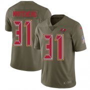 Wholesale Cheap Nike Buccaneers #31 Jordan Whitehead Olive Men's Stitched NFL Limited 2017 Salute To Service Jersey