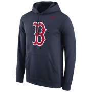 Wholesale Cheap Boston Red Sox Nike Logo Performance Pullover Navy MLB Hoodie