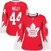 Wholesale Cheap Adidas Maple Leafs #44 Morgan Rielly Red Team Canada Authentic Women's Stitched NHL Jersey