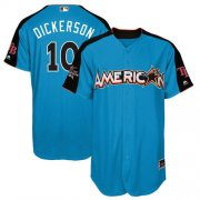 Wholesale Cheap Rays #10 Corey Dickerson Blue 2017 All-Star American League Stitched Youth MLB Jersey
