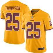 Wholesale Cheap Nike Redskins #25 Chris Thompson Gold Youth Stitched NFL Limited Rush Jersey