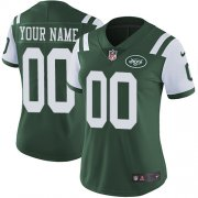 Wholesale Cheap Nike New York Jets Customized Green Team Color Stitched Vapor Untouchable Limited Women's NFL Jersey