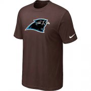 Wholesale Cheap Nike Carolina Panthers Sideline Legend Authentic Logo Dri-FIT NFL T-Shirt Brown