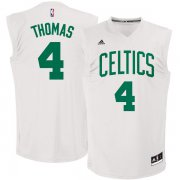 Wholesale Cheap Boston Celtics #4 Isaiah Thomas White Chase Fashion Replica Jersey