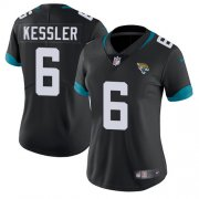 Wholesale Cheap Nike Jaguars #6 Cody Kessler Black Team Color Women's Stitched NFL Vapor Untouchable Limited Jersey