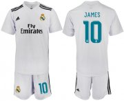 Wholesale Cheap Real Madrid #10 James White Home Soccer Club Jersey