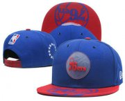 Wholesale Cheap Philadelphia 76ers Snapback Ajustable Cap Hat GS