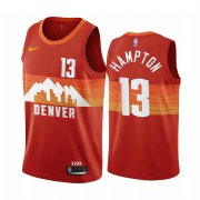 Wholesale Cheap Nike Nuggets #13 R.J. Hampton Red NBA Swingman 2020-21 City Edition Jersey