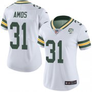 Wholesale Cheap Nike Packers #31 Adrian Amos White Women's 100th Season Stitched NFL Vapor Untouchable Limited Jersey