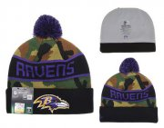 Wholesale Cheap Baltimore Ravens Beanies YD009