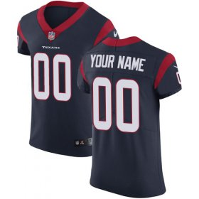Wholesale Cheap Nike Houston Texans Customized Navy Blue Team Color Stitched Vapor Untouchable Elite Men\'s NFL Jersey
