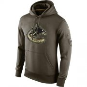 Wholesale Cheap Men's Vancouver Canucks Nike Salute To Service NHL Hoodie