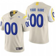 Wholesale Cheap Los Angeles Rams Custom Men's Nike Bone 2020 Vapor Untouchable Limited NFL Jersey