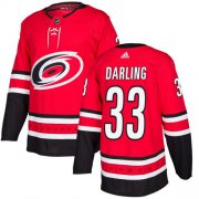 Wholesale Cheap Adidas Hurricanes #33 Scott Darling Red Home Authentic Stitched Youth NHL Jersey