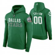 Wholesale Cheap Adidas Stars Custom Men's Green 2020 Winter Classic Retro NHL Hoodie