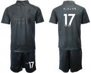 Wholesale Cheap Liverpool #17 Klavan Black Soccer Club Jersey