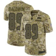 Wholesale Cheap Nike Seahawks #89 Doug Baldwin Camo Men's Stitched NFL Limited 2018 Salute To Service Jersey
