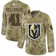 Wholesale Cheap Adidas Golden Knights #41 Pierre-Edouard Bellemare Camo Authentic Stitched NHL Jersey