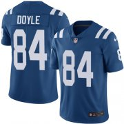 Wholesale Cheap Nike Colts #84 Jack Doyle Royal Blue Team Color Men's Stitched NFL Vapor Untouchable Limited Jersey