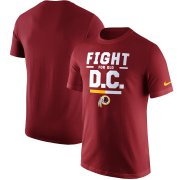 Wholesale Cheap Washington Redskins Nike Local Verbiage T-Shirt Burgundy