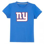 Wholesale Cheap New York Giants Sideline Legend Authentic Logo Youth T-Shirt Light Blue