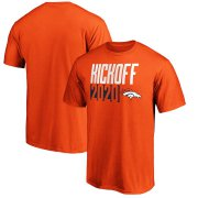 Wholesale Cheap Denver Broncos Fanatics Branded Kickoff 2020 T-Shirt Orange