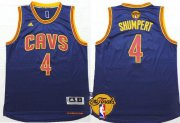 Wholesale Cheap Men's Cleveland Cavaliers #4 Iman Shumpert 2016 The NBA Finals Patch Navy Blue Jersey