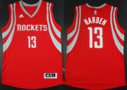 Wholesale Cheap Houston Rockets #13 James Harden Revolution 30 Swingman 2014 New Red Jersey
