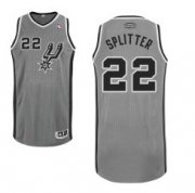 Wholesale Cheap San Antonio Spurs #22 Tiago Splitter Gray Swingman Jersey