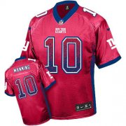 Wholesale Cheap Nike Giants #10 Eli Manning Red Alternate Men's Stitched NFL Elite Drift Fashion Jersey