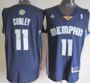 Wholesale Cheap Memphis Grizzlies #11 Mike Conley Revolution 30 Swingman Navy Blue Jersey