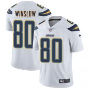 Wholesale Cheap Nike Chargers #80 Kellen Winslow White Youth Stitched NFL Vapor Untouchable Limited Jersey