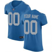 Wholesale Cheap Nike Detroit Lions Customized Blue Alternate Stitched Vapor Untouchable Elite Men's NFL Jersey