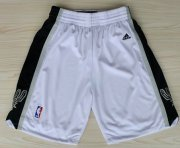 Wholesale Cheap San Antonio Spurs White Short