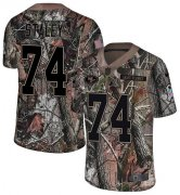 Wholesale Cheap Nike 49ers #74 Joe Staley Camo Youth Stitched NFL Limited Rush Realtree Jersey