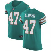Wholesale Cheap Nike Dolphins #47 Kiko Alonso Aqua Green Alternate Men's Stitched NFL Vapor Untouchable Elite Jersey