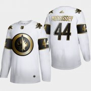 Wholesale Cheap Winnipeg Jets #44 Josh Morrissey Men's Adidas White Golden Edition Limited Stitched NHL Jersey