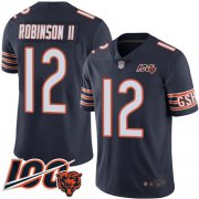 Wholesale Cheap Nike Bears #12 Allen Robinson II Navy Blue Team Color Men's Stitched NFL 100th Season Vapor Limited Jersey