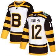 Wholesale Cheap Adidas Bruins #12 Adam Oates White Authentic 2019 Winter Classic Stitched NHL Jersey