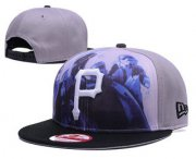 Wholesale Cheap MLB Pittsburgh Pirates Snapback Ajustable Cap Hat 6