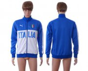 Wholesale Cheap Italy Away Soccer Jackets Blue