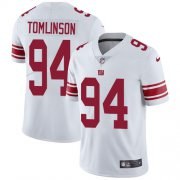 Wholesale Cheap Nike Giants #94 Dalvin Tomlinson White Youth Stitched NFL Vapor Untouchable Limited Jersey