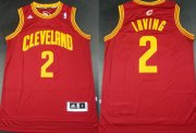 Wholesale Cheap Cleveland Cavaliers #2 Kyrie Irving Revolution 30 Swingman Red Jersey