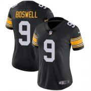 Wholesale Cheap Nike Steelers #9 Chris Boswell Black Alternate Women's Stitched NFL Vapor Untouchable Limited Jersey