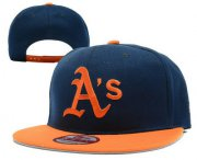 Wholesale Cheap MLB Oakland Athletics Snapback Ajustable Cap Hat 5