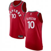 Wholesale Cheap Nike Toronto Raptors #10 DeMar DeRozan Red NBA Authentic Icon Edition Jersey