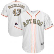 Wholesale Cheap Astros #43 Lance McCullers White 2018 Gold Program Cool Base Stitched Youth MLB Jersey